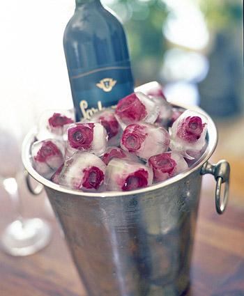 Casa Quickie: Rose Ice Cubes