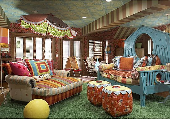 Love It or Hate It? Busy Mansion Playroom