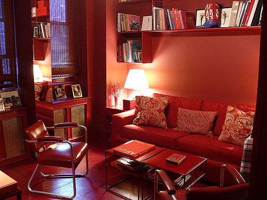 Would You Dress a Room in All Red?