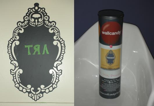 Casa Beta: Wall Candy Arts Rococo Chalkboard Decal