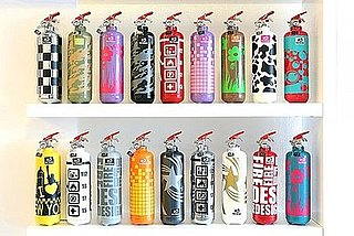 Sugar Shout Out: Check Out These Pretty Fire Extinguishers
