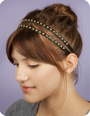 fredflare.com | double studded headwrap