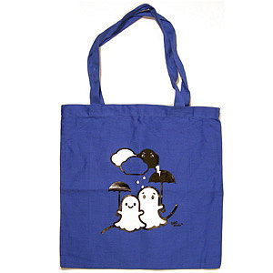 Rainy Day Ghosts Tote