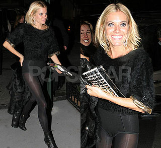 Sienna Miller No Pants Party