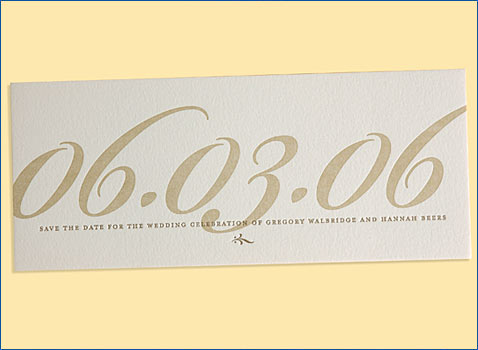 Fab Save-The-Date Stationery