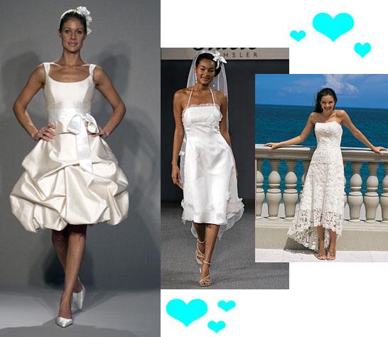 Wedding Gown Trend Alert: Short & Sweet