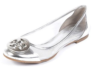 Tory Burch Silver Audrey Ballet Flat: Love It or Hate It?
