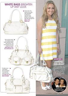 More White Hot Spring Handbags!