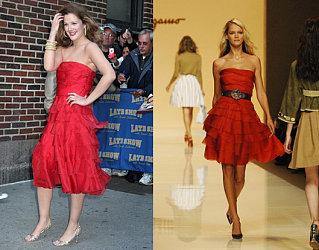 By Popular Demand...Drew's Red Dress!