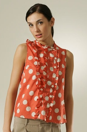 Fabworthy: Marc by Marc Jacobs Dot Lawn Top