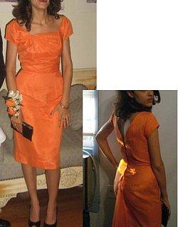 Look of the Day: Orange Dream