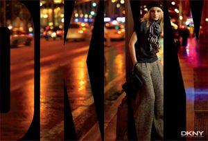 Fab Flash: Jessica Stam Nabs Fall DKNY Campaign
