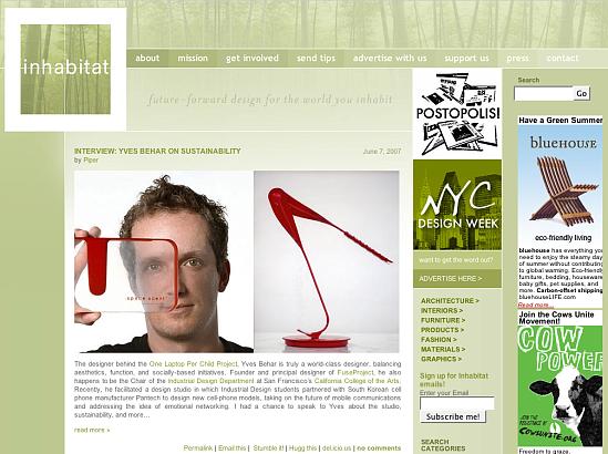 Fab Site: Inhabitat.com