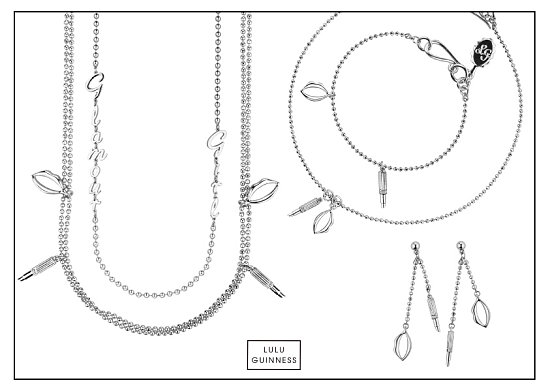 On Our Radar: Lulu Guinness New Jewelry Collection