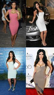Kim Kardashian's Herve Leger Obsession