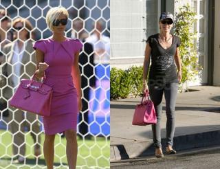Who Wore It Better? Fuchsia Hermes Birkin Bag