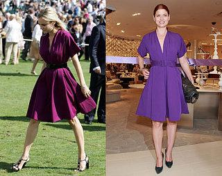 Who Wore It Better? Purple Jean-Paul Gaultier Dress