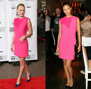 Who Wore It Better? Pink Preen Dress