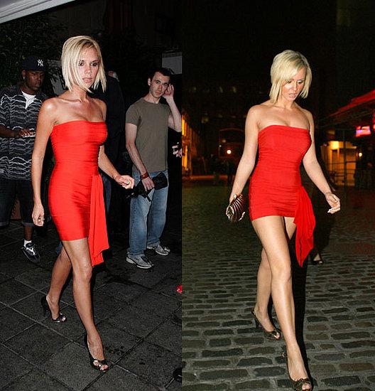 WTF?! Victoria Beckham Impersonator?