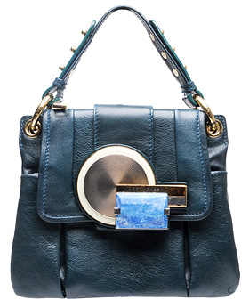 Guess Who Designed This Dope Ass Blue Handbag?