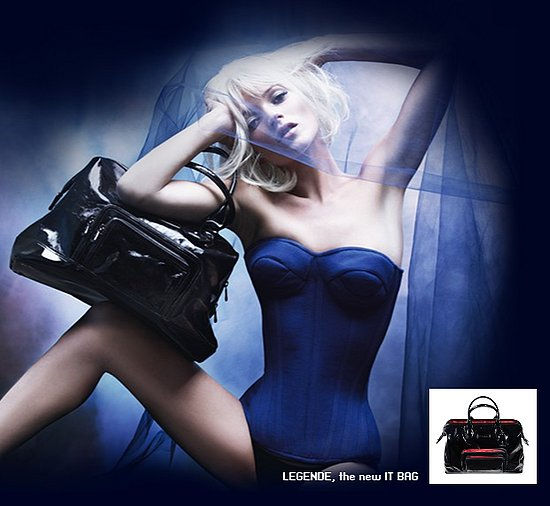 Log-In to Win a Longchamp Black Patent Légende Bag!