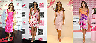 Which Elizabeth Hurley Breast Cancer Pink Frock is Most Fab?