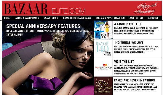 Fab Site: BazaarElite.com