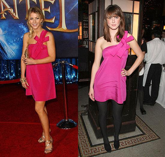 Who Wore It Better? Jay Godfrey Fuchsia Bow Dress