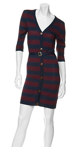 Fab Finger Discount: Spring & Clifton Striped Cardigan Dress