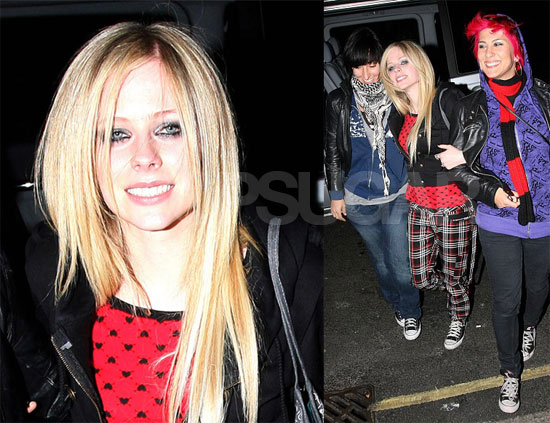 Avril Happy About Her White Wedding