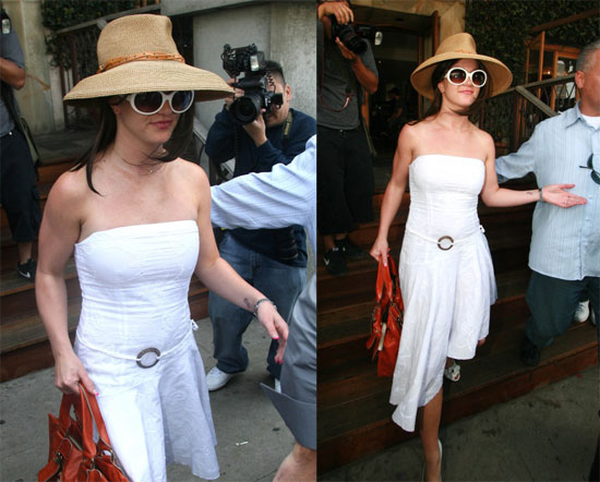 Britney Goes to Church, Photog Ends Up in Handcuffs