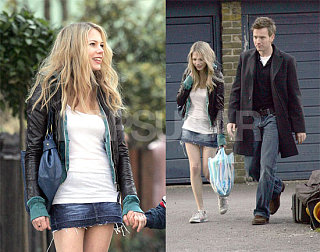 Michelle Reunited with Ewan, Long Hair