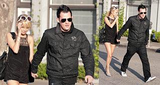 Nicole and Joel Back in Black