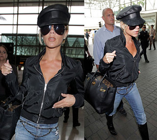 Leather Hat Posh Takes On LAX