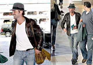 Colin Farrell Tries Out the Fedora Thing, Too