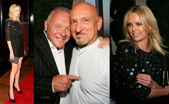 Charlize, Anthony and Ben Honored in Vegas