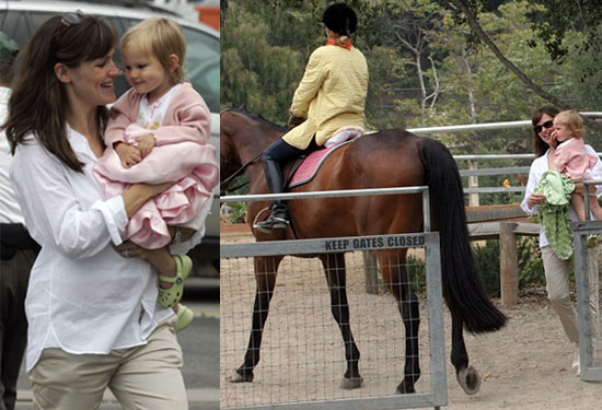 Jen And Ben Saddle Up For Their Second Anniversary