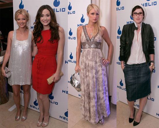 Paris, Emmy, Rumer Enjoy Don't Call It A Phone Party