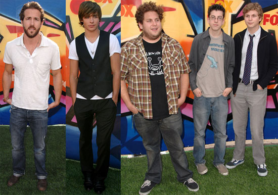 Casual Sunday For The Boys At Teen Choice