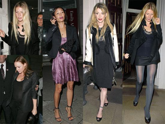 Gwyneth's Girls' Night Out in London