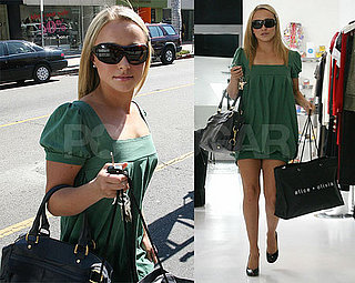 Hayden Panettiere's Day Off