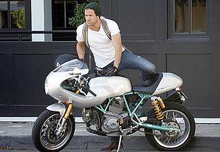 Ryan Reynolds = Motorcycle Manjoyment