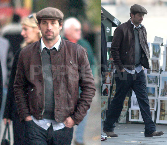 Patrick Dempsey Gets Some Cute Costar Competition