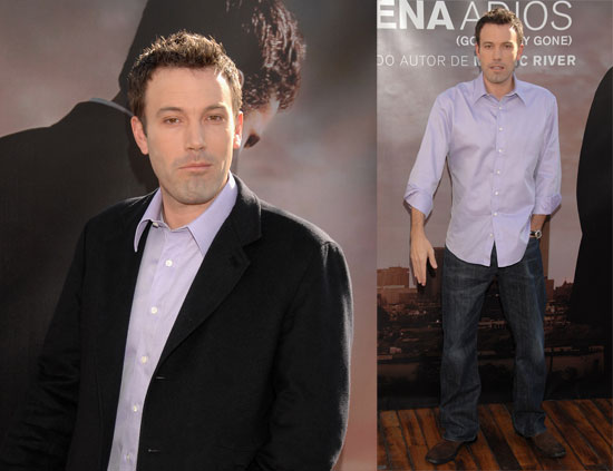 Ben Affleck in Spain, Not About to Leave LA