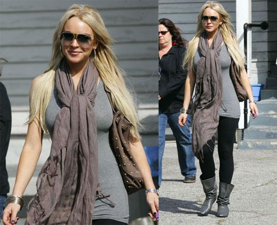 Is Lindsay Lohan Morphing into Jessica Simpson?