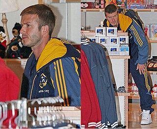 We Can See You Behind Those Mugs, Beckham