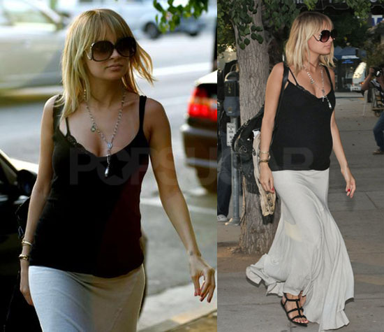 Nicole Richie Feeds Herself and Other People