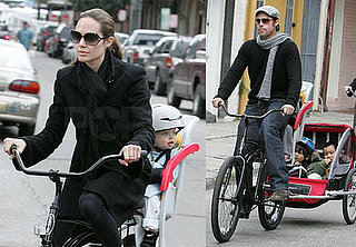 The Jolie-Pitts in New Orleans