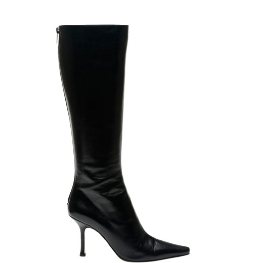 All time favorite fashion items: Classic black leather knee high boots