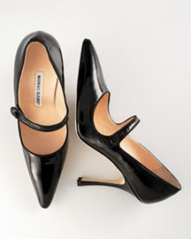 All time favorite fashion items: Manolo Blahnik Mary Janes